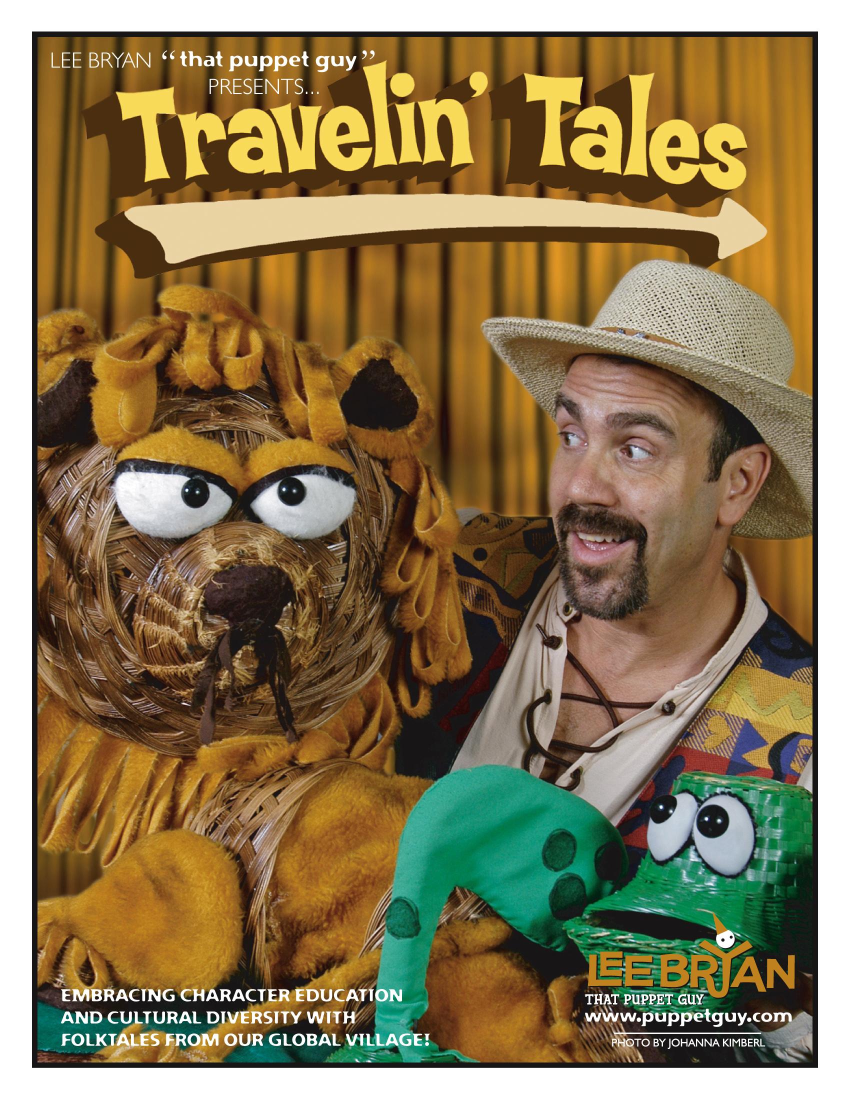 Publicity Slick Travelin' Tales
