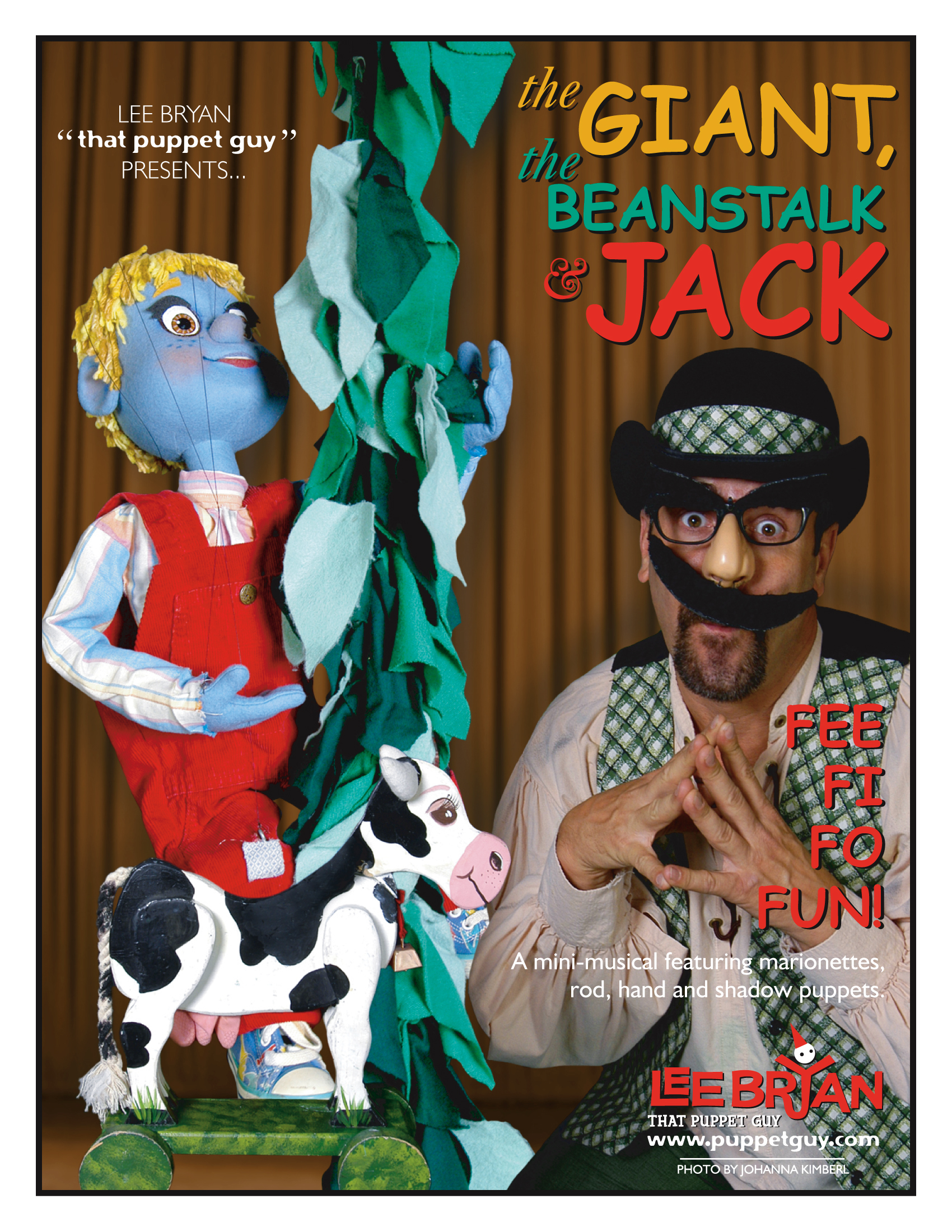 Publicity Slick: The Giant, The Beanstalk & Jack