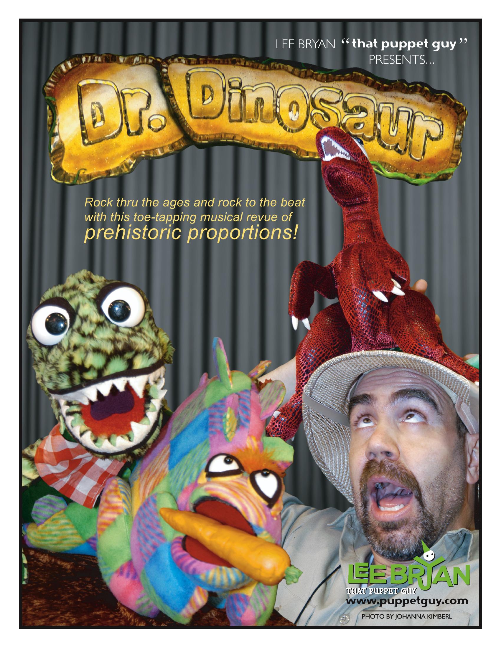 Publicity Slick Dr. Dinosaur!