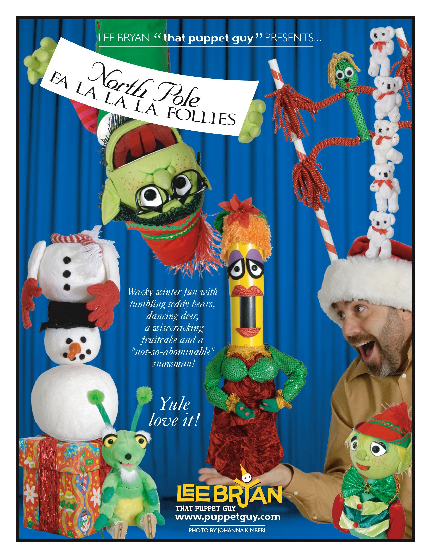 Publicity Slick The North Pole Fa-La-La-La Follies
