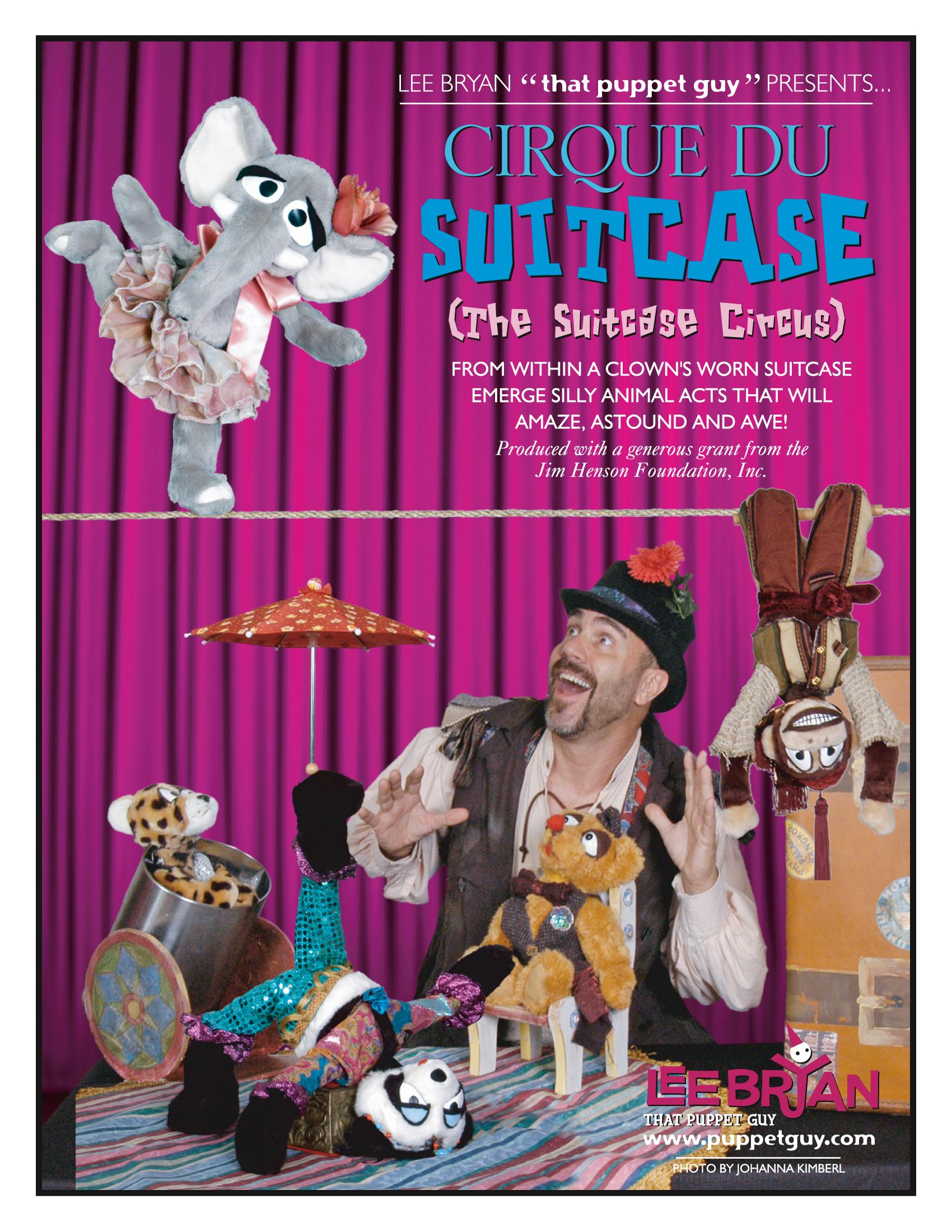 Publicity Slick The Suitcase Circus