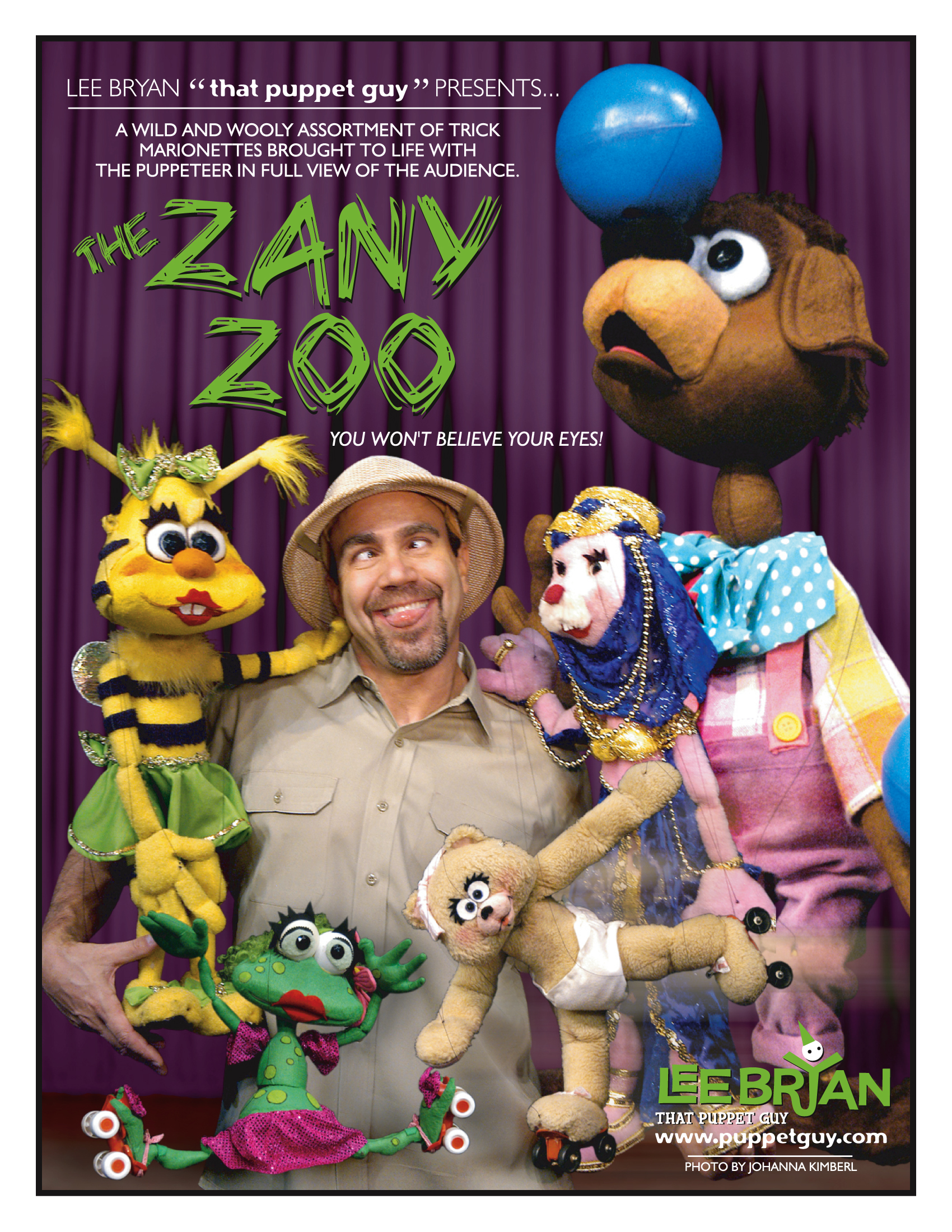 Publicity Slick The Zany Zoo