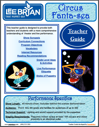 Elementary School Teacher Guide Circus Fanta-Sea