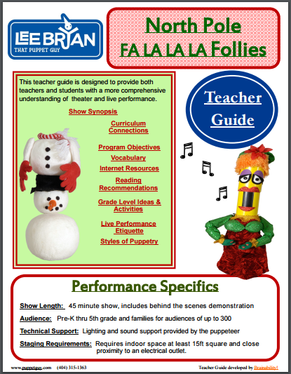 Elementary School Teacher Guide The North Pole Fa-La-La-La Follies