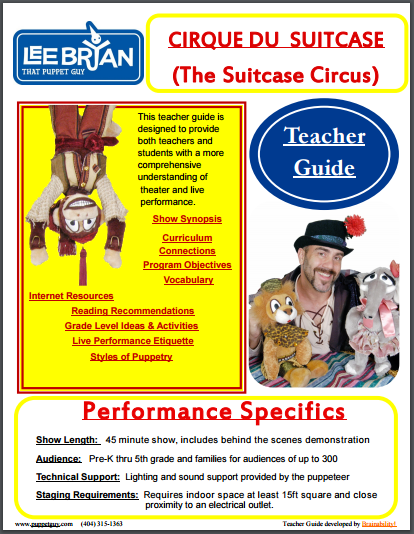 Elementary School Teacher Guide The Suitcase Circus